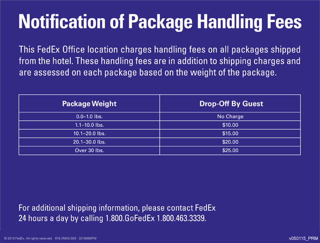 Fedex convention hotel orlando fl 9800 international dr 32819 shipments into and out of a hotel or convention center featuring a fedex office location are subject to receiving or handling fees in addition to the colourmoves